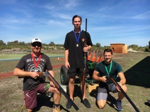 Perth clay pigeon shooting